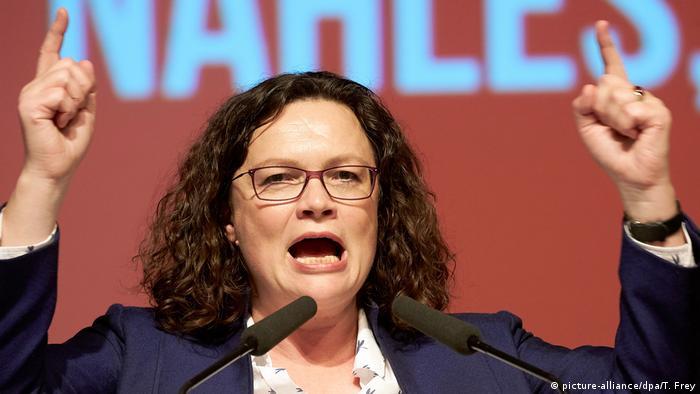 Deutschland SPD Rheinland-Pfalz | Andrea Nahles, Bundesvorsitzende