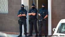 Spanien | Symbolbild Polizei Polizisten