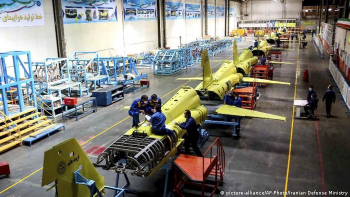Iran | Produktion Kampfjet Kowsar
