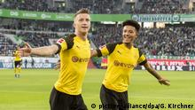Fußball Bundesliga VfL Wolfsburg - Borussia Dortmund