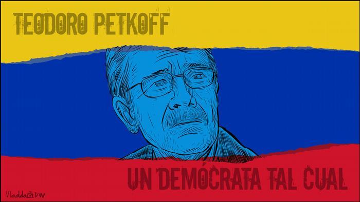 Karikatur von Vladdo Teodoro Petkoff