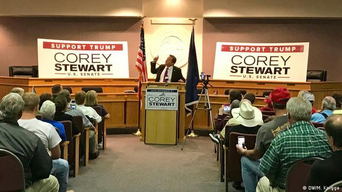 USA Wahlkampf Corey Stewart in Virginia (DW/M. Knigge)