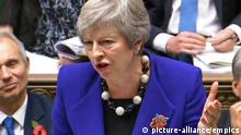 Prime Minister's Questions. Prime Minister Theresa May speaks during Prime Minister's Questions in the House of Commons, London. Picture date: Wednesday October 31, 2018. See PA story POLITICS PMQs May. Photo credit should read: PA Wire URN:39434432  