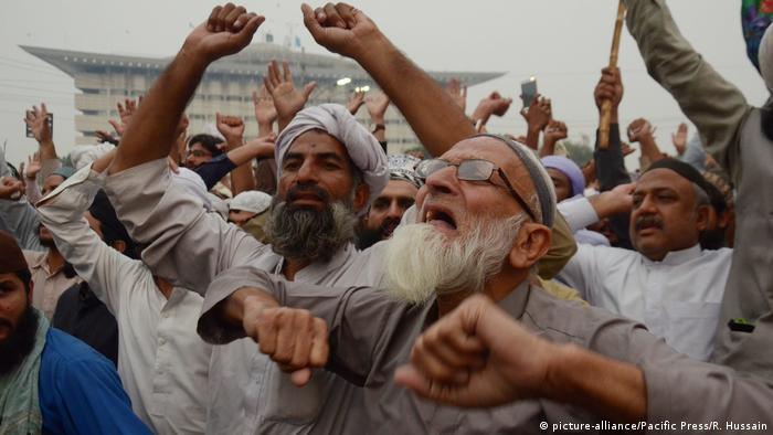 Prosvjedi u Pakistanu nakon ukidanja smrtne presude Asji Bibi