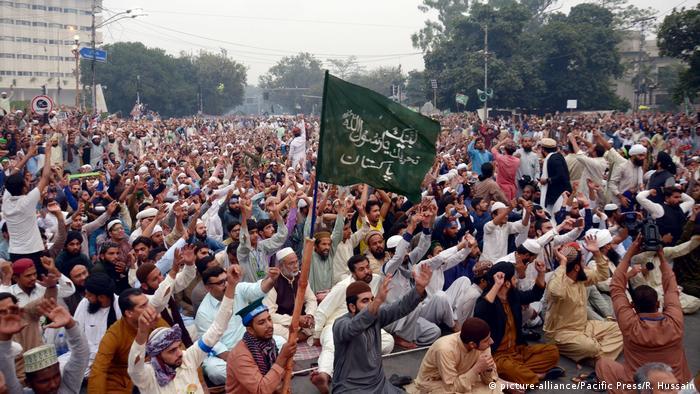Pakistan Unruhen wegen Freilassung Christin Blasphemie