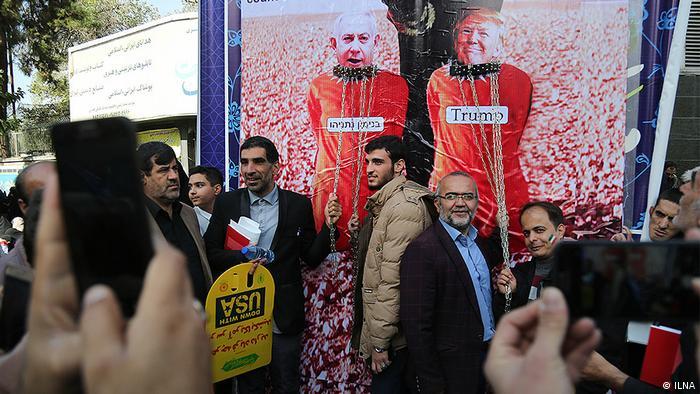 Iran Jahrestag Besetzung US-Botschaft Demonstrationen