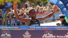 USA | New York City Marathon | Sieger Lelisa Desisa