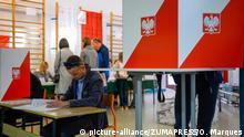 Polen Prognose: Niederlage für Regierungspartei PiS bei zweiter Wahlrunde in Polen | ARCHIV