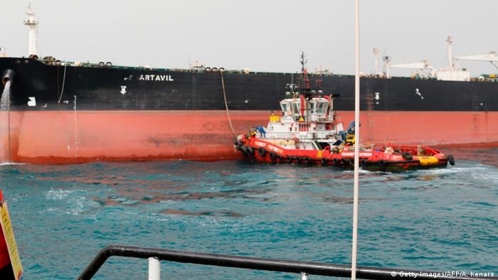 Iranischer Öltanker