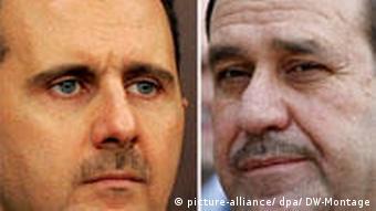 Combobild Bashar Assad und Nouri al-Maliki