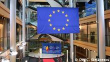 Europaparlament, EU- und Rumänien-Flagge Autor: Cristian Ștefănescu, DW