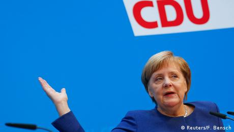 Angela Merkel (Reuters/F. Bensch)