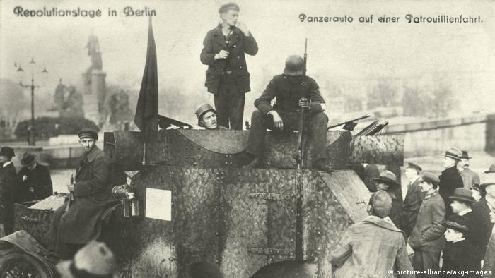 Deutschland Novemberrevolution 1918