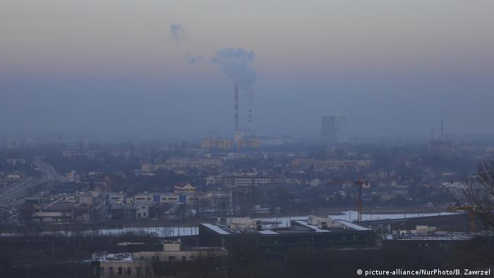 Смогът е проблем за редица европейски градове