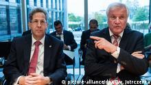 Deutschland Berlin | Horst Seehofer, Innenminister & Hans-Georg Maaßen, früher Bundesamt für Verfassungsschutz