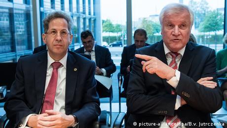 Hans-Georg Maassen and Horst Seehofer (picture-alliance/dpa/B.v. Jutrczenka)