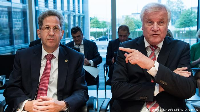 Hans-Georg Maassen and Horst Seehofer (picture-alliance/dpa/B.v. Jutrczenka)
