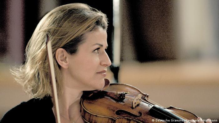 Anne-Sophie Mutter in 2007 (Deutsche Grammophon/Harald Hoffmann)