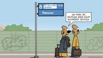 Cartoon von Miguel Fernandez