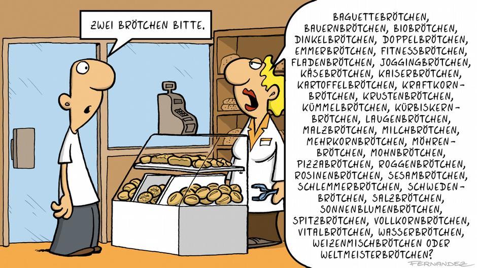 Cartoon Deutsch