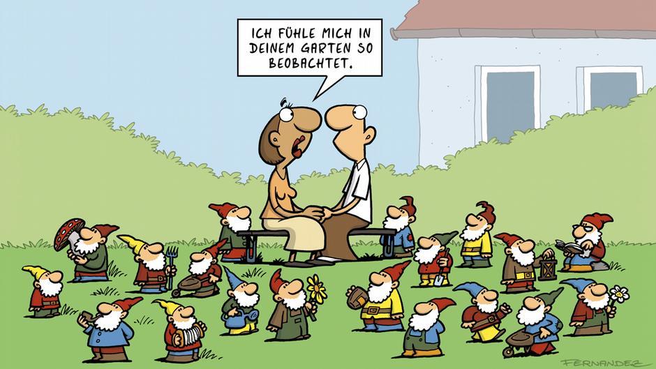 ″Verstehen Sie Deutsch?″ Deutsche Eigenarten im Cartoon ...