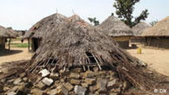 A deserted village in Uganda