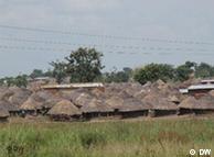 乌干达的难民村