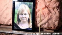 Ukraine Gedenken an Aktivistin Jekaterina Gandsjuk