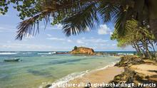Strand bei Mirissa, Matara, Südliche Provinz, Sri Lanka, Asien