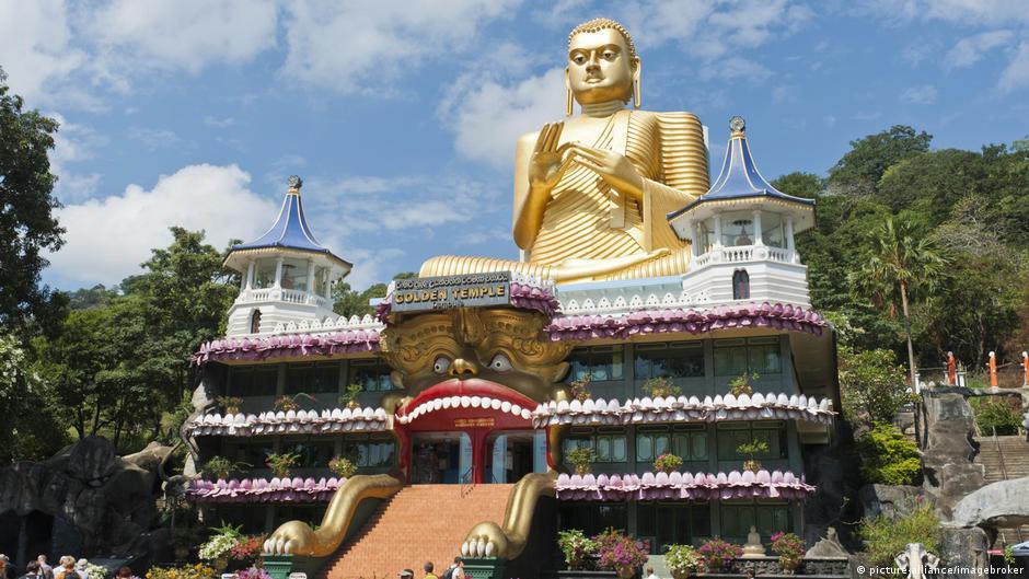 斯裡蘭卡的丹布勒石窟寺