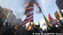 Iran Protest gegen US-Sanktionen in Teheran