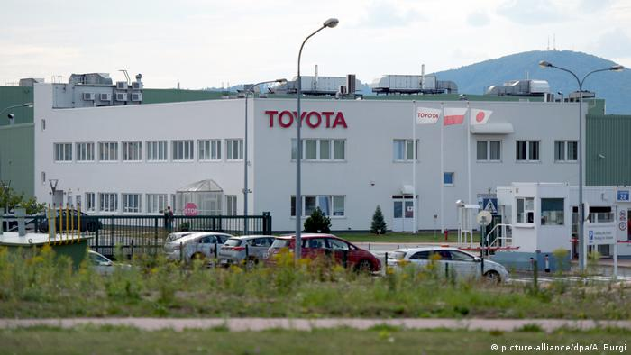 Toyota factory in Walbrzych, Poland