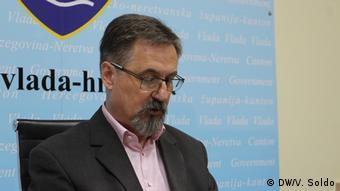 Goran Opsenica, ein Serbe der die kroatische Partei HDZ als Kroate vertritt