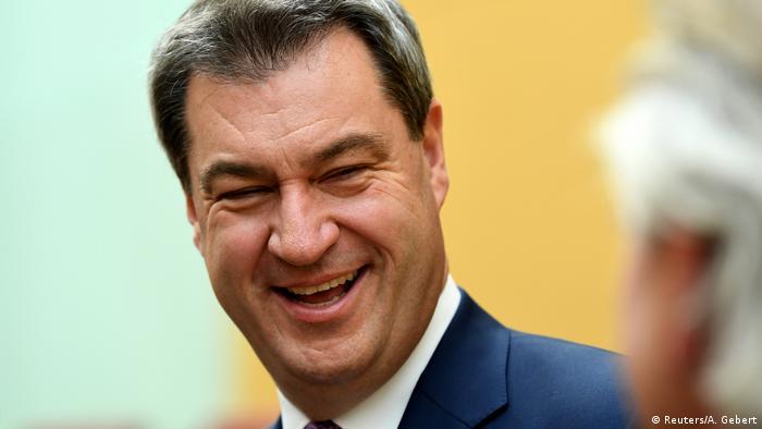 München: Wahl von Markus Söder in Bayern (Reuters/A. Gebert)
