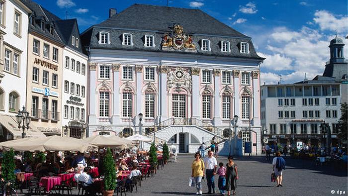 Bonn, antigua capital de la República Federal de Alemania.