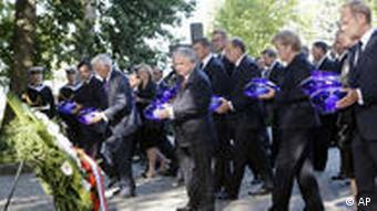 Gedenkfeier zum 70. Jahrestag des Beginns des Zweiten Weltkrieges in Polen Flash Format