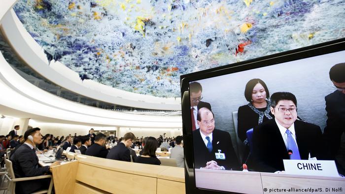 Ostro krytykowane Chiny na forum Rady Praw Człowieka ONZ, 6.11.2018