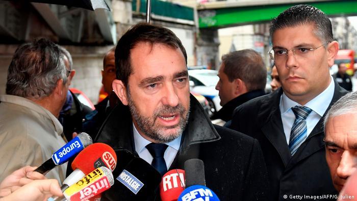 Министр внутренних дел Франции Кристоф Кастанер