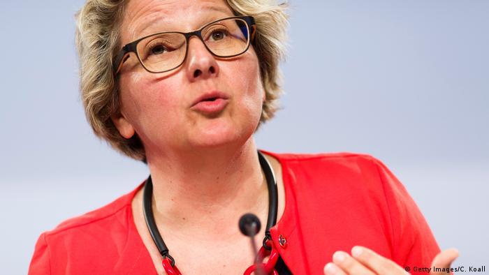 Umweltministerin Svenja Schulze (SPD) (Getty Images/C. Koall)