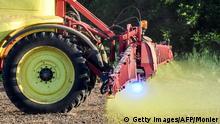 Frankreich Landwirtschaft Glyphosat Ausbringung