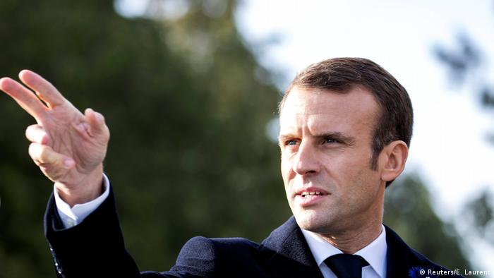 France detains 6 over plot to attack Emmanuel Macron