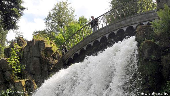 Kasseler Bergpark Wilhelmshöhe - Teufelsbrücke