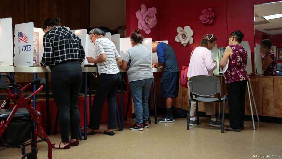 USA Halbzeitwahlen 2018 | midterms | Stimmabgabe in Los Angeles