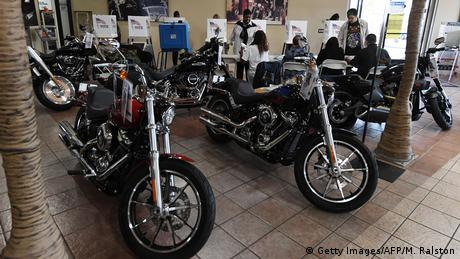 Harley Davidson showroom in Long Beach, California (Getty Images/AFP/M. Ralston)