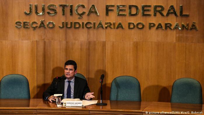 Brasilien Richter Sergio Moro (picture-alliance/ZUMA Wire/G. Bubniak)