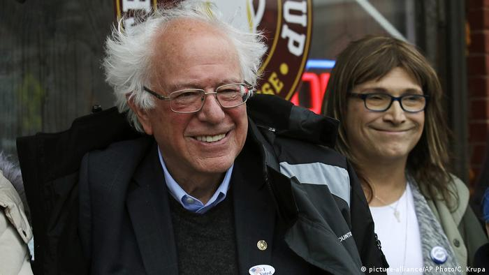 USA Halbzeitwahlen 2018 | midterms | Bernie Sanders, Demokraten Vermont (picture-alliance/AP Photo/C. Krupa)