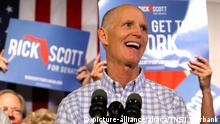 USA Halbzeitwahlen 2018 | midterms | Rick Scott Florida Republikaner (picture-alliance/abaca/TNS/J. Burbank)