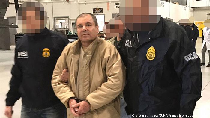 Mexiko El Chapo (picture-alliance/ZUMA/Prensa International/Ho/Pgr)