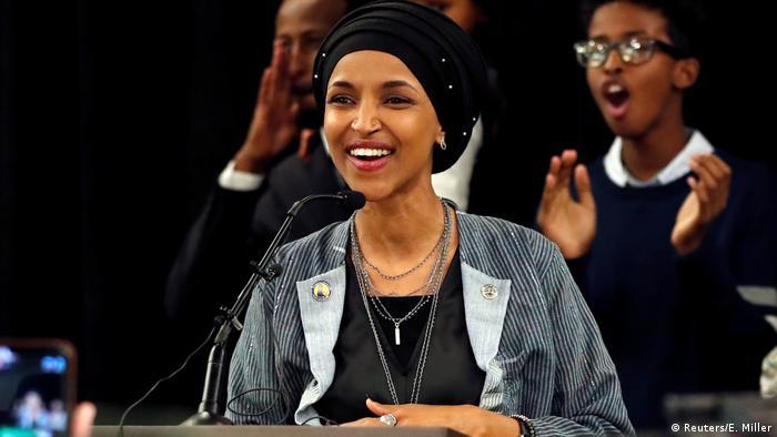 Ilhan Omar, Democrat of Minnesota (Reuters/E. Miller)