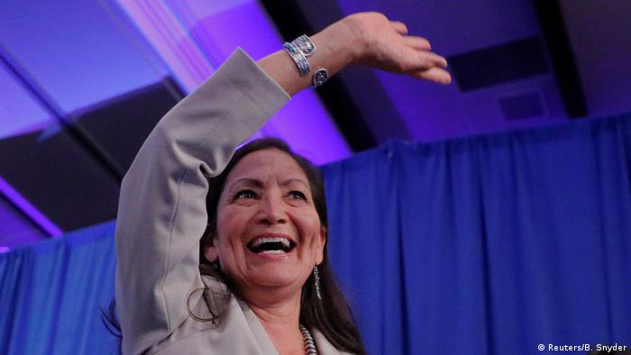 Deb Haaland (Photo: Reuters/B. Snyder)